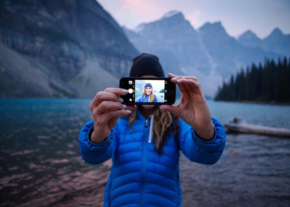 как правильно фотографировать пейзаж на телефон прямым хватом отлично