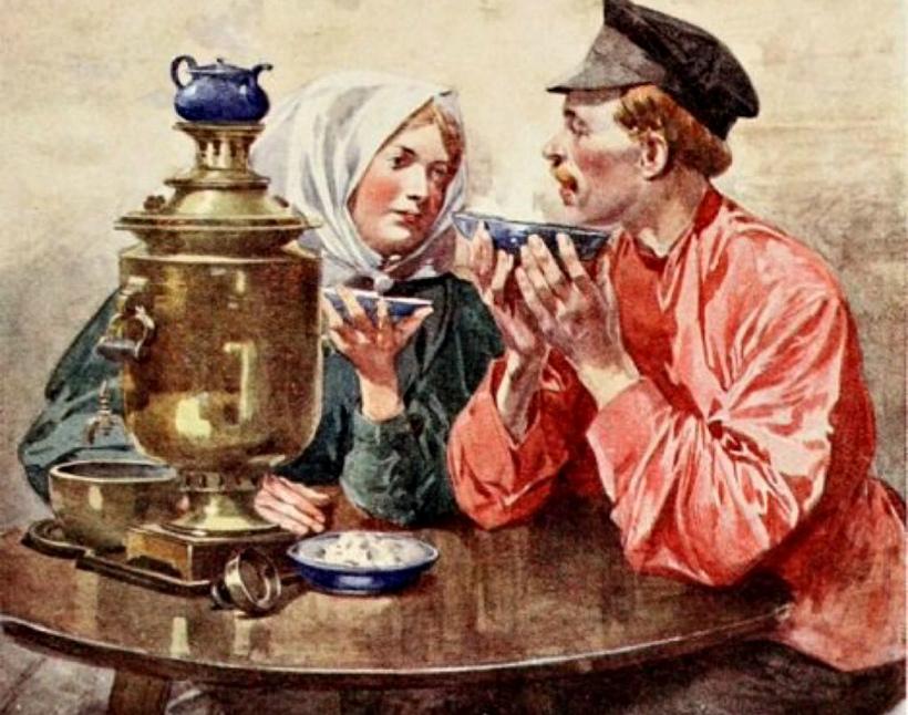 чай с восклицательным знаком